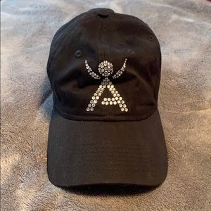 Isagenix black baseball hat